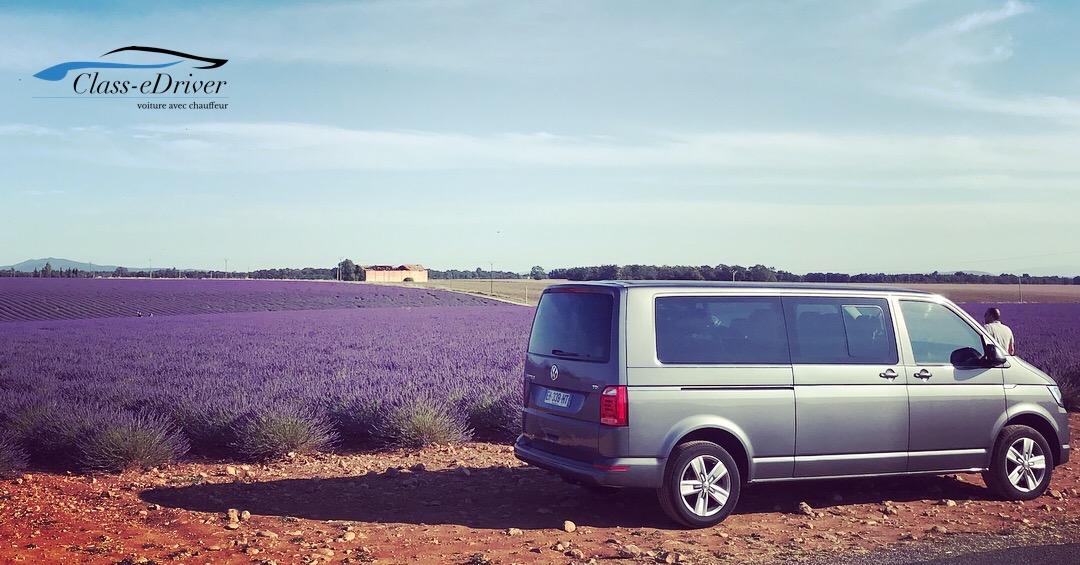 Lavender Tour VW Caravelle