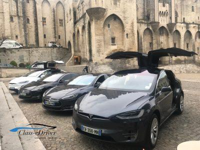 Chauffeur Privé Tesla Avignon
