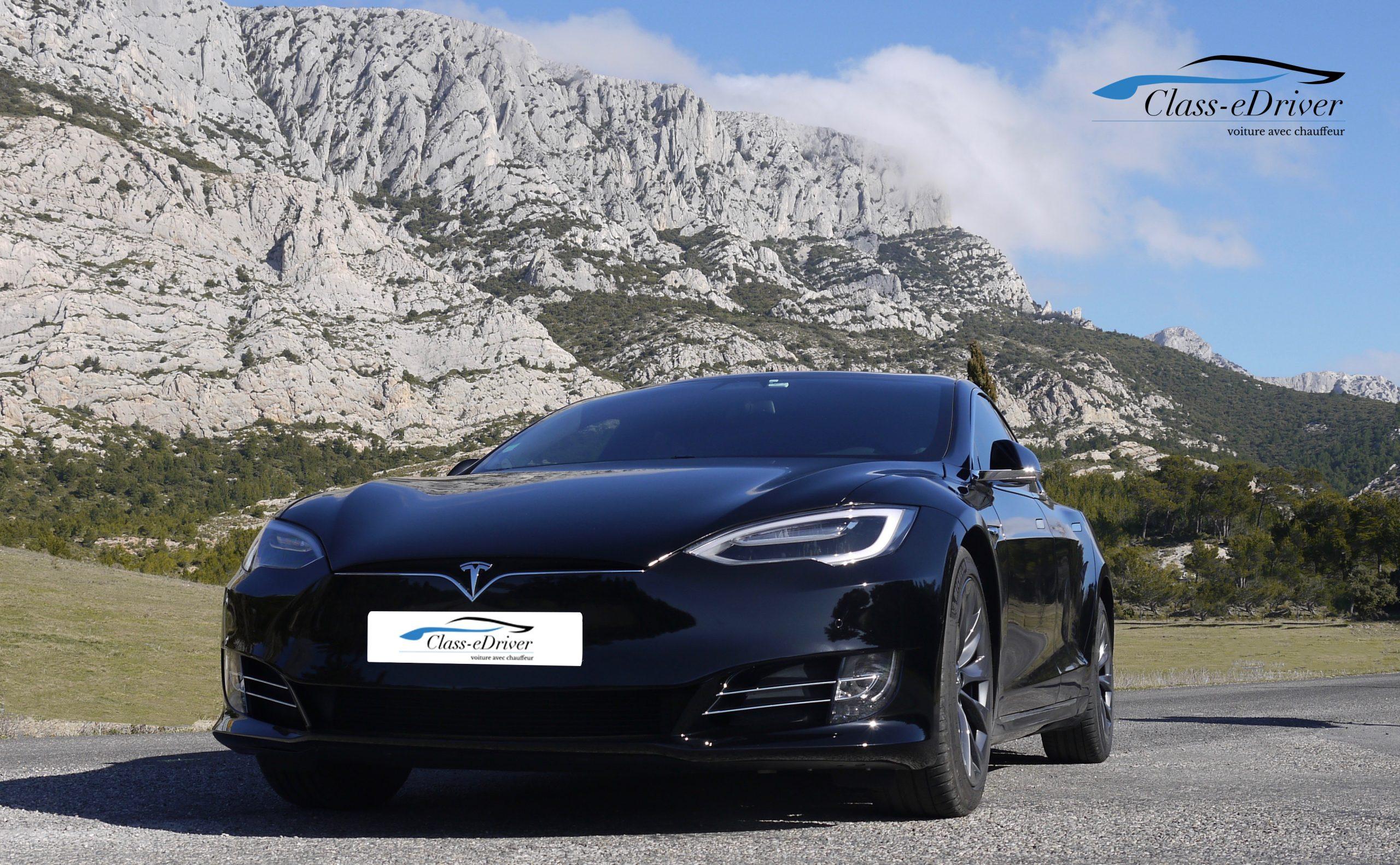Location Tesla S avec Chauffeur Saint Tropez
