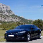 Chauffeur VTC Aix Marseille TESLA Model S