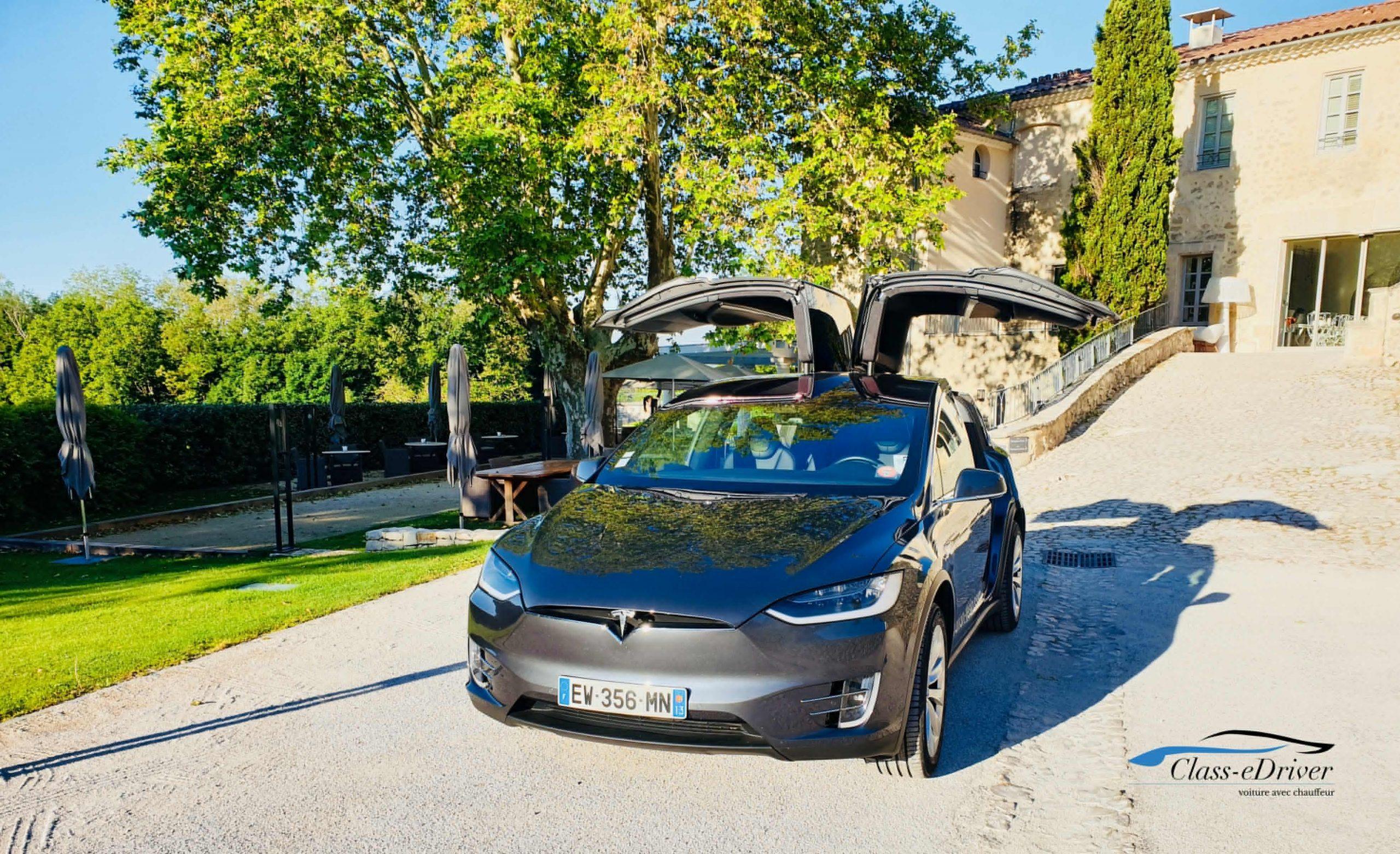 Chauffeur Privé VTC TESLA Marseille