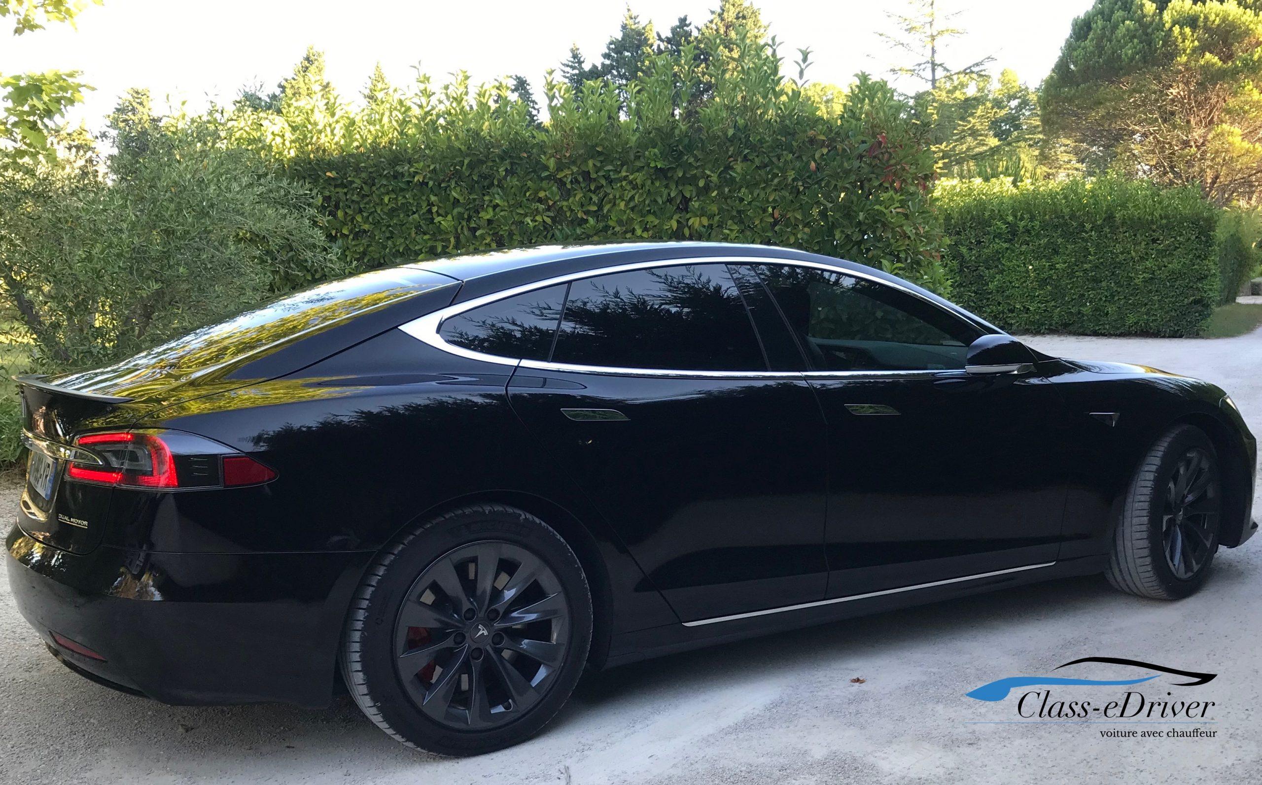 Chauffeur Privé Tesla VTC Limousine Aix en Provence