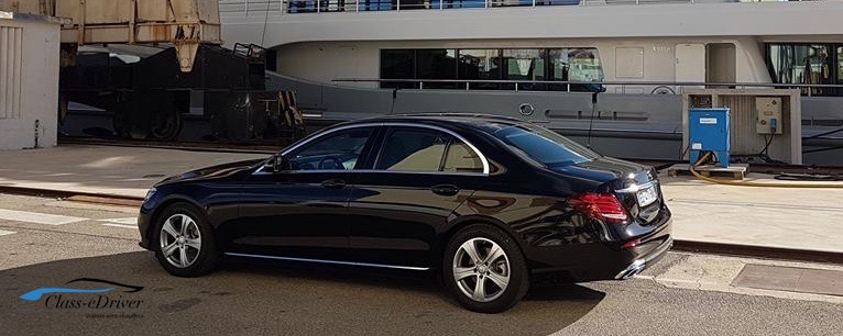 Mercedes Classe E avec Chauffeur La Ciotat