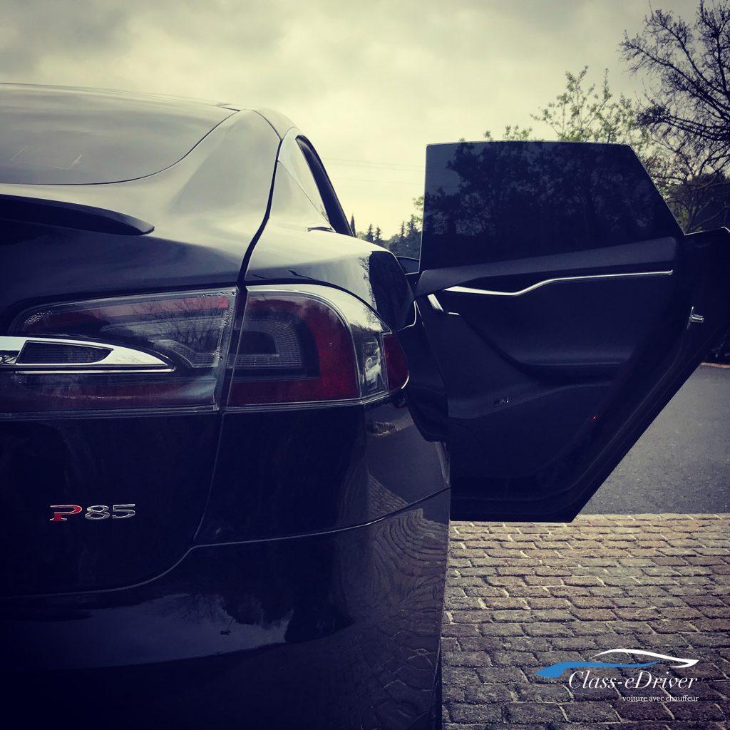 Chauffeur Privé Tesla Montpellier