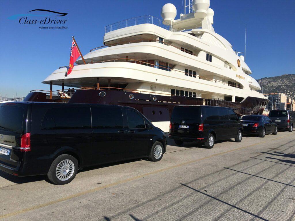 Chauffeured Car Service Monaco