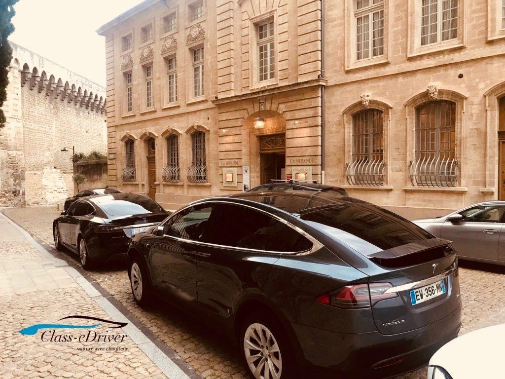Chauffeur service Avignon