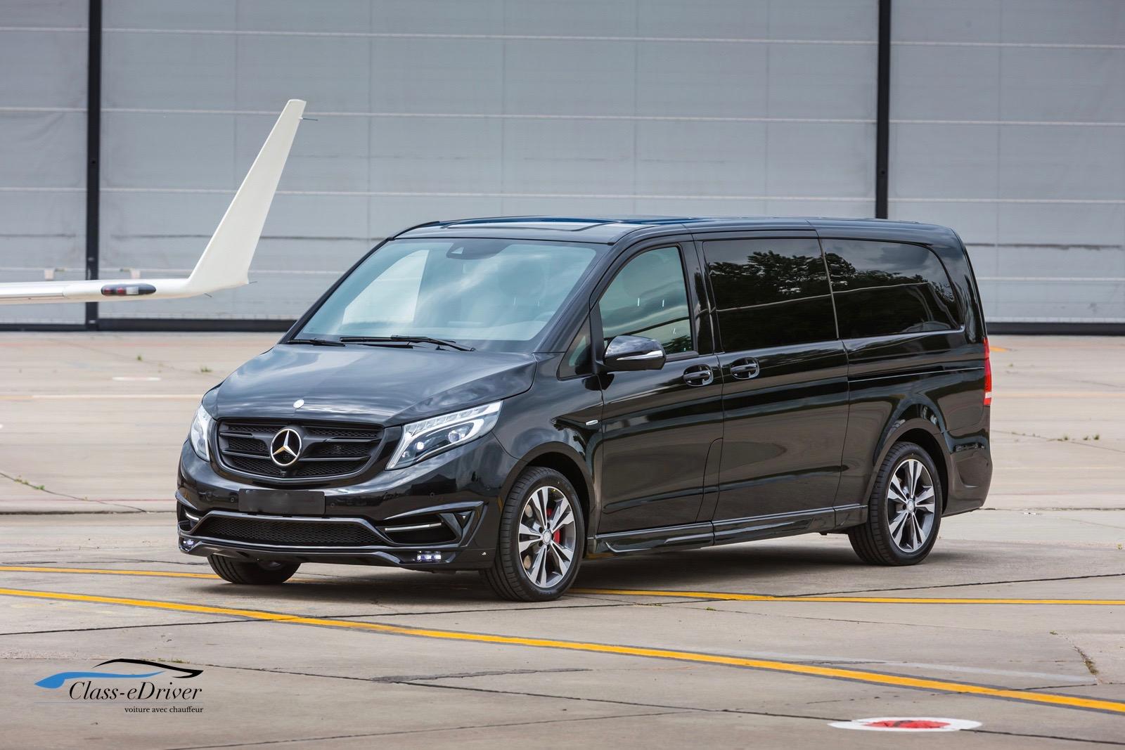 Chauffeur VIP Marseille Mercedes V Class