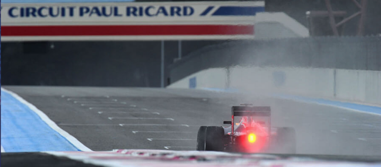 Chauffeur Service F1 Paul ricard French GP