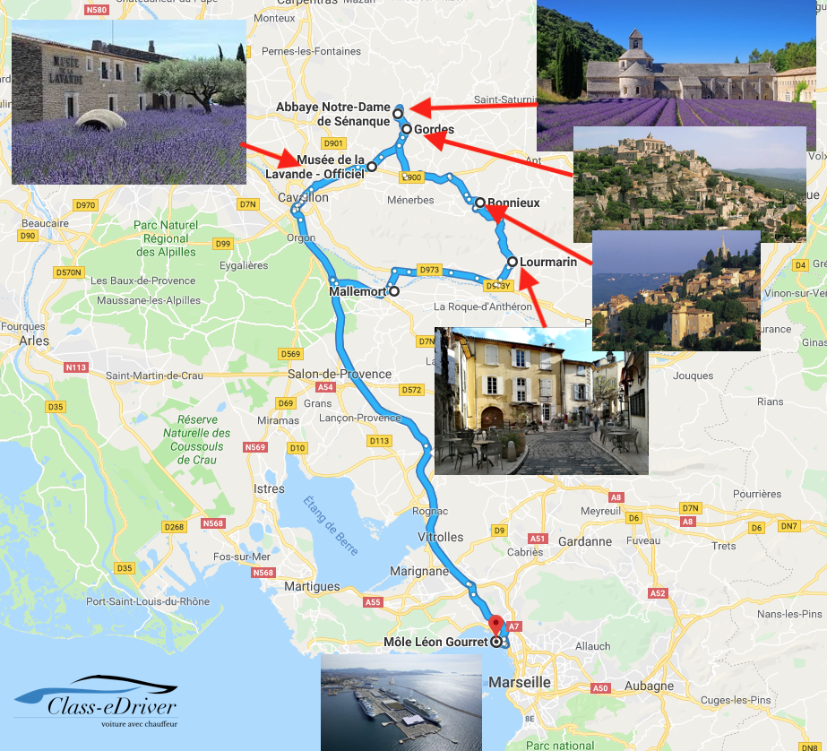 Luberon Tour Shore Excursions Lavender Marseille