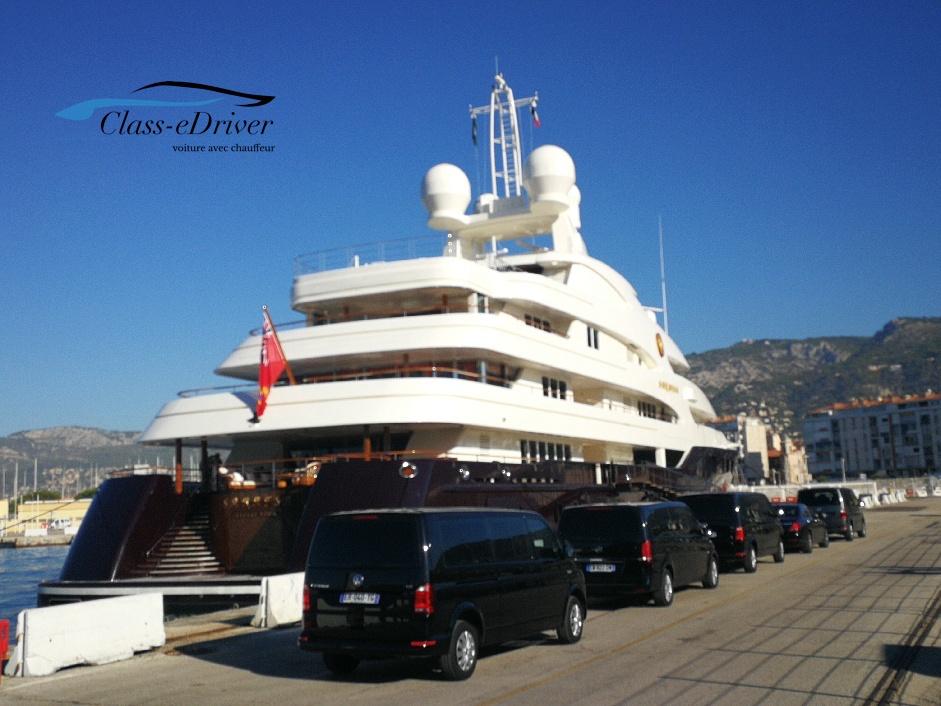Chauffeur Service Monaco Yacht Show