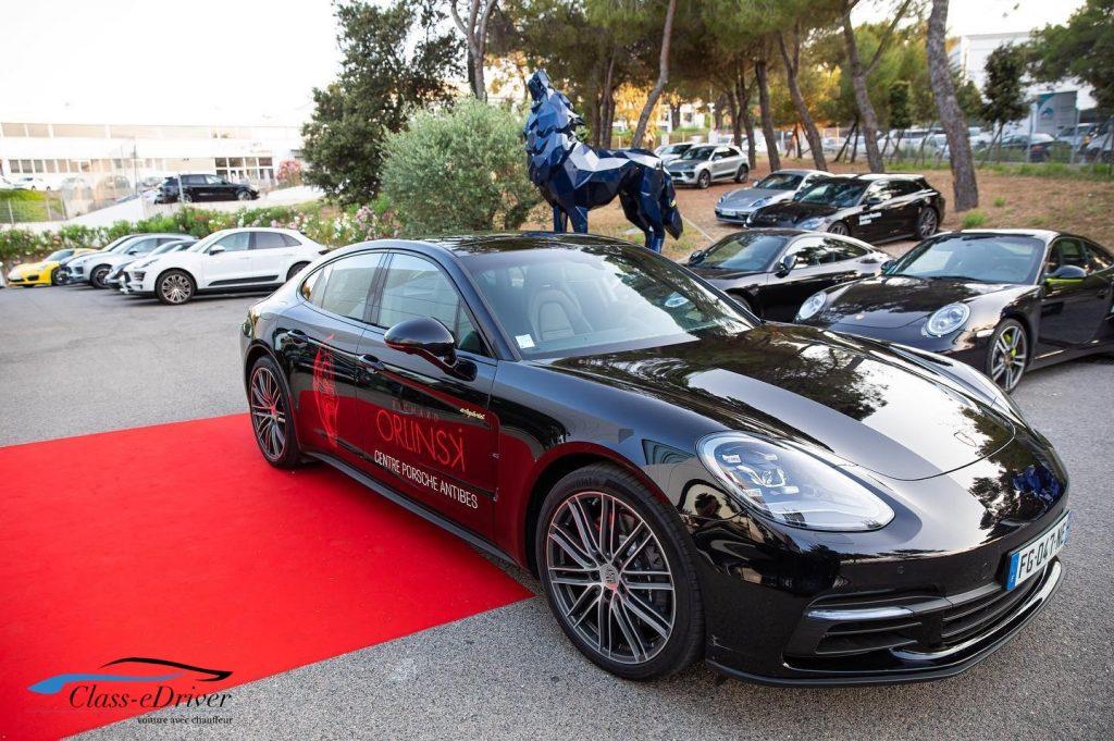Chauffeur Service Porsche