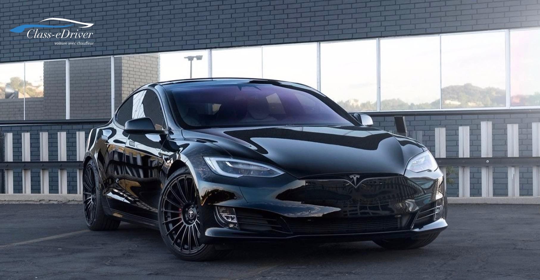 Chauffeur car service Tesla