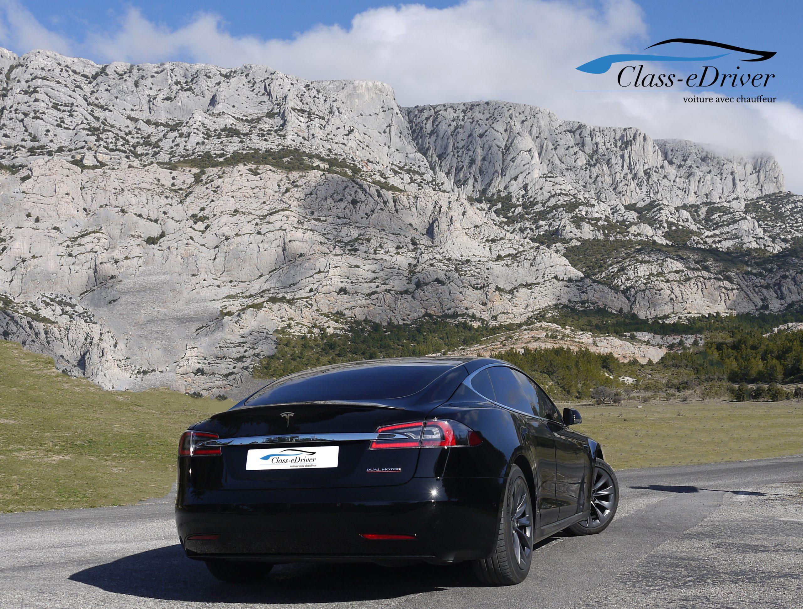 Chauffeur Privé Tesla VTC Limousine Marseille