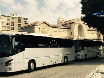 Mise a Disposition Autocar 50 pax Marseille