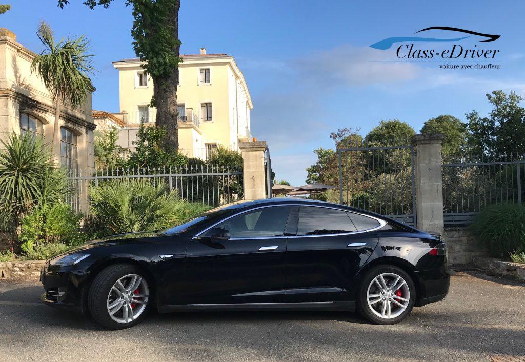 Chauffeur Privé Tesla Domaine de Verchant Domaine de Verchant 34170