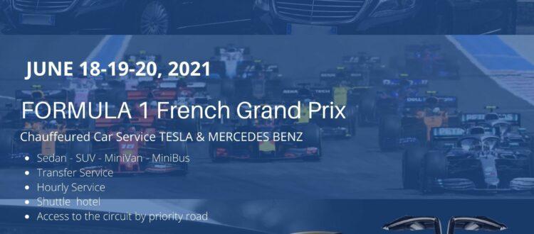Chauffeur Service French GP Formula 1