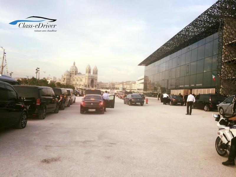 Location de voiture avec chauffeur Cannes